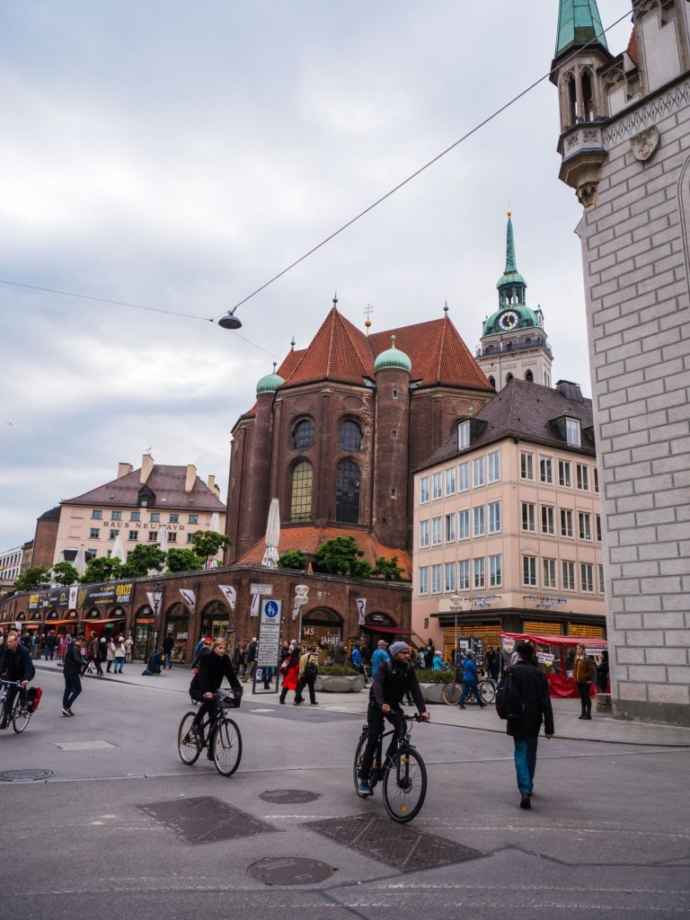 shoppingstråk i munchen